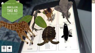 (p1) Cách đem vườn thú 4D ra ngoài cho bé ( Animal 4D ), đã có video phần 2 link trong description