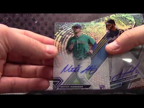 2017 Topps High TEK Baseball 6 Box Serial #s GB # 2
