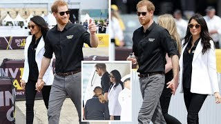 Meghan Markle stuns in a white blazer as she hold hand Prince Harry heads to Invictus Games