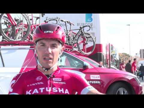 Joaquim Rodriguez - Interview during the Vuelta a la Comunitat Valenciana