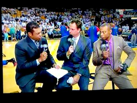 Caron Butler Interviewed PRE GAME 5/2/12 Clippers Part 1