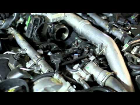 Fuel Filter Replacement. 2007 E320 Bluetec Part 1