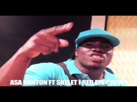 Asa Banton Ft Skelet (red Eye Crew ) - One Man -newwww Boouyon -jan 2012 video