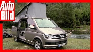 VW Bus T6 California - Neuauflage der Legende