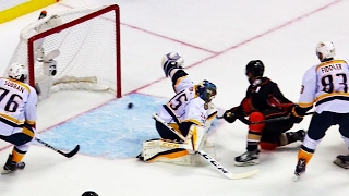 Wagner jumps on juicy rebound to beat Rinne