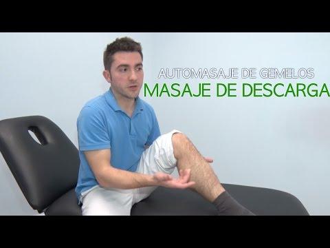 Automasaje gemelos: Cómo hacerse un masaje de descarga