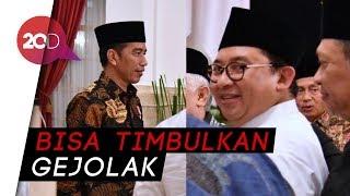 Fadli Zon Tantang Jokowi Buktikan Soal Propaganda Rusia