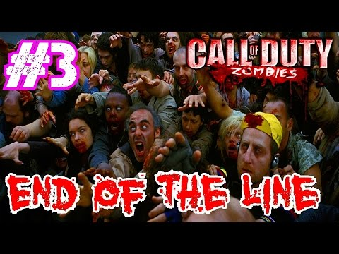 Call of Duty Custom Zombies: END OF THE LINE Part 3▐ Can You Even Survive Bro?