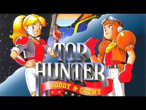CGR Undertow - TOP HUNTER: RODDY & CATHY review for Neo-Geo