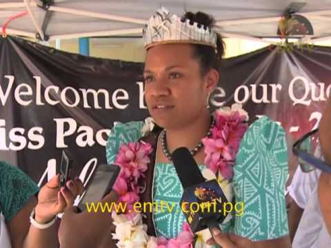 Miss Pacific Islands Returns Victorious