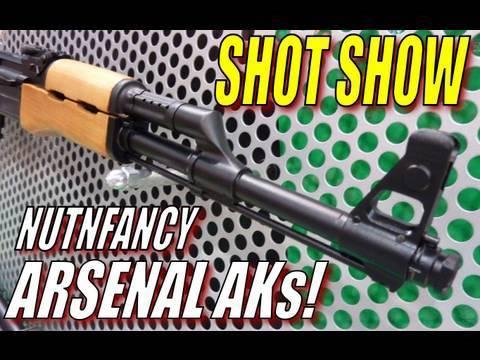 Nutnfancy SHOT Show:  ARSENAL AKs!
