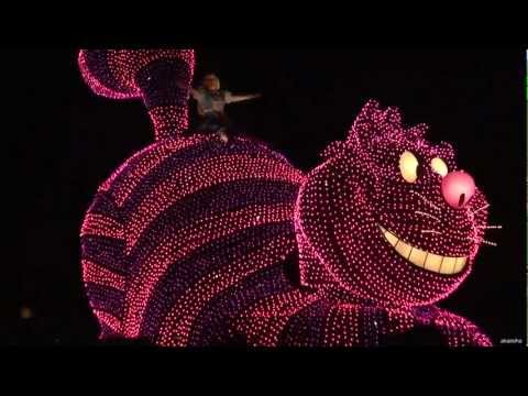 [HD] Tokyo Disneyland - Electrical Parade Dream Lights (Xmas) 2006