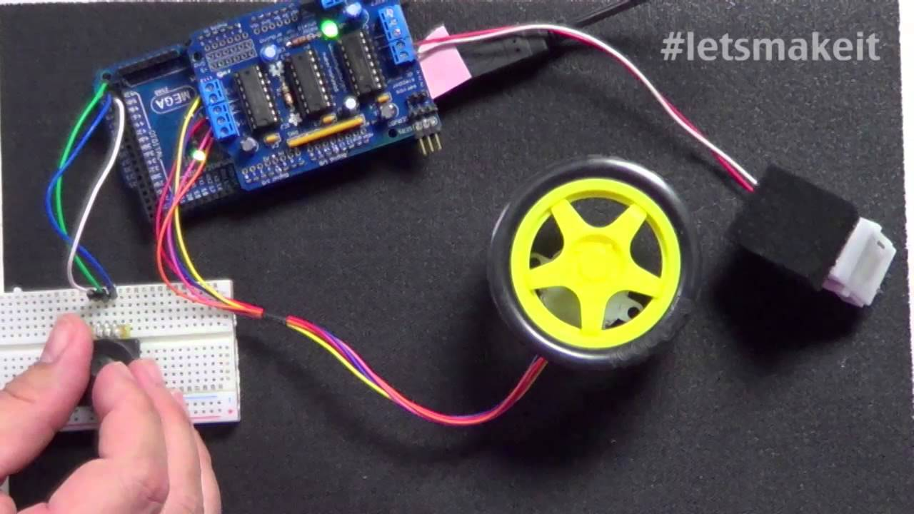 Stepper And Dc Motor Control With Arduino Let 39 S Make It