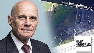 URGENTE: Jornalista Ricardo Boechat morre em acidente de helicóptero