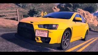 Gta 5 | Mitsubishi Lancer Evo X | GameAzure
