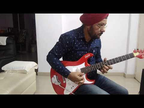Dil Mera Churaya Kyun-Guitar Cover/ Guitar Lead /By Amarbir Singh/Akele Hum Akele Tum/Amir Khan