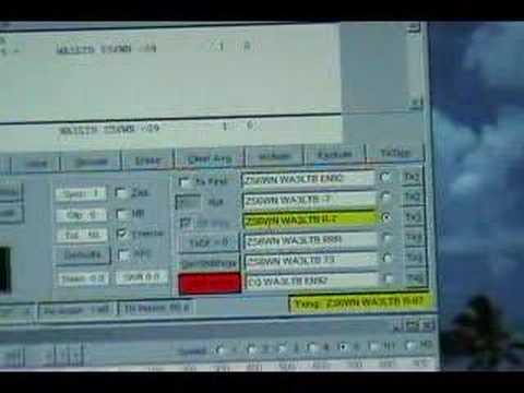 Ham Radio HF JT65A Demonstration