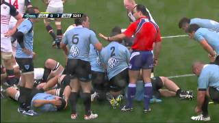 2014 Mar 29th RWC Qual Americas Play off 2nd leg USA v Uruguay