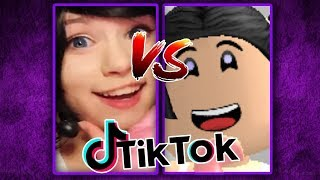 TIK TOK VS ROBLOX