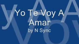 download lagu Yo Te Voy A Amar This I Promise You gratis