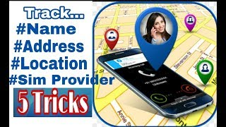 How to track mobile number details || Name || Address || Location || Hindi ||