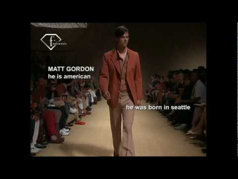 fashiontv | FTV.com - TOBIAS SORENSEN + MATT GORDON MODELS MEN SS 2009 - MILAN Video