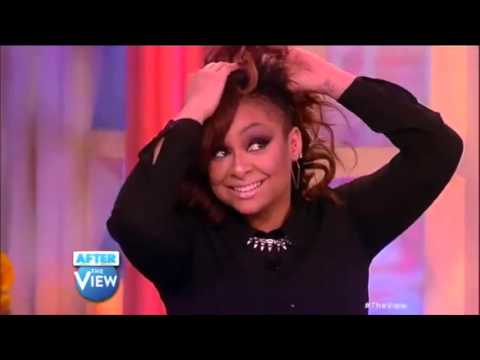 Raven-Symoné Throws Off Her Wig! - The View
