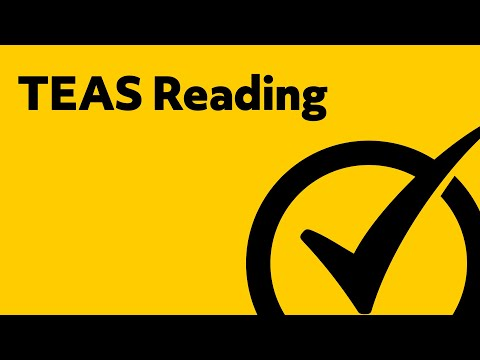 Free TEAS Test Version 5 Reading Study Guide