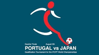 PORTUGAL vs JAPAN - CP Football 2016 - Vejen, Denmark