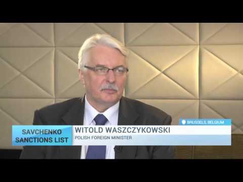 'Polish parliament appeals for release of Savchenko' - Witold Waszczykowski