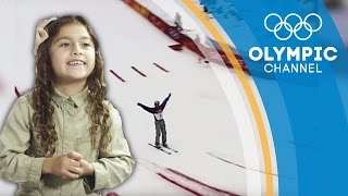 Kids Jury Commenting on Victorious Ski Aerials   Kids Call