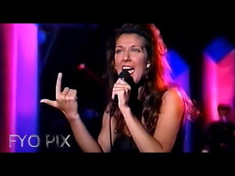 CÉLINE DION - Love Can Move Mountains (Live / En public) 1992