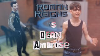 WWEPredictions - Roman Reigns vs. Dean Ambrose (Survivor Series 2015)