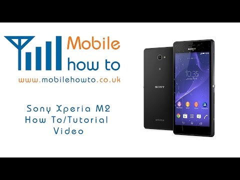How To Change Text Message sms Alert notification Tone - Sony Xperia M2 video