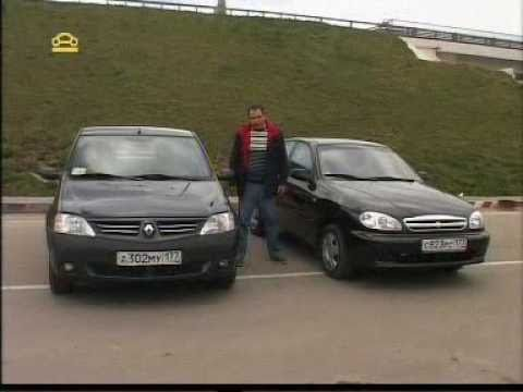 Chevrolet Lanos и Dacia Logan 2004, -  тест-драйв