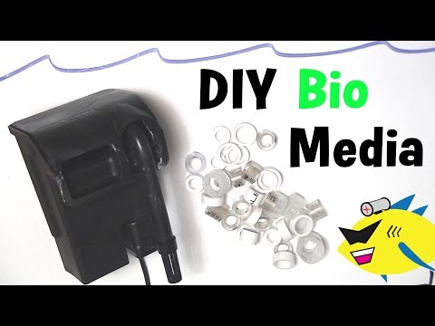 How To Make: DIY Bio Media For Aquarium
