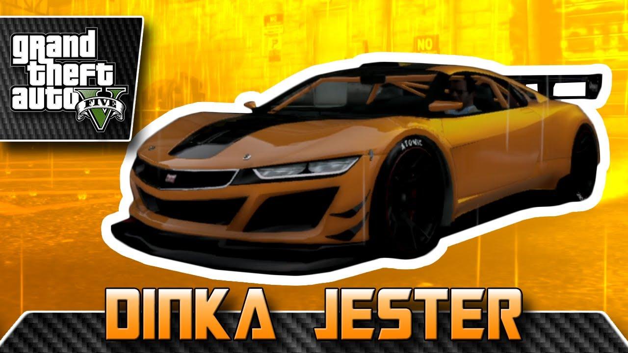 Dinka Jester (2015 Honda NSX) CUSTOMIZATION + TEST DRIVE - GTA V / Online - YouTube