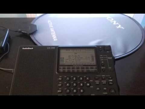 Radio China International - RadioShack DX 398 and Sony AN LP Active Antenna - 9790 KHZ - 03:00 UTC