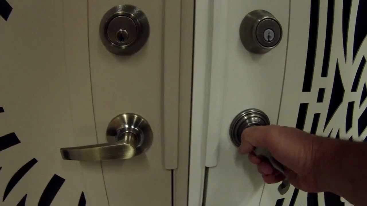 Security Doors At Home Depot Youtube