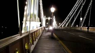 Albert Bridge West London - Night Photography