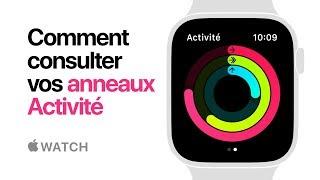 AppleWatch Series4 — Comment consulter vos anneaux Activité — Apple