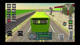 Euro Bus Sim 3D 2019 - Android Gameplay HD