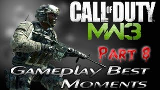 Call Of Duty MW3 Gameplay Best Moments + Music by Anubys (Part 8)