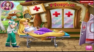 Rapunzel Birth Care Game for Girls - Cartoon Character Games for Children