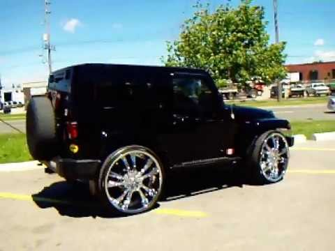 28 Quot Rims On A Jeep Done By Factory Tire Amp Rubber 416 744