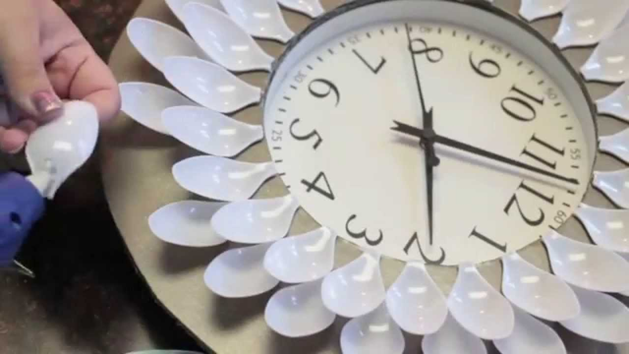 Diy Under 20 Dollar Wall Clock Youtube