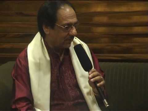 king of Ghazals Ustad Gulam Ali Khan Sahib  Interviewed by Saranjit...