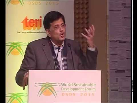 DSDS 2015, Fberuary 6 : Special Address by Mr Piyush Goyal