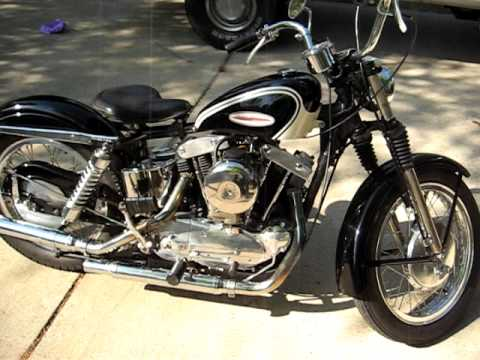 1961 Harley Davidson XLCH Sportster Video