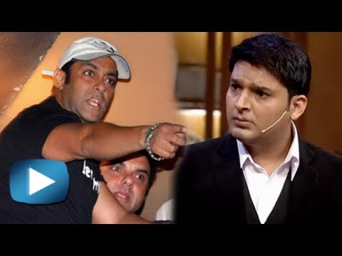 Omg! Salman Khan Gets Angry On Kapil Sharma video